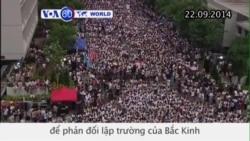 Sinh viên Hong Kong bãi khóa để phản đối Bắc Kinh (VOA60)