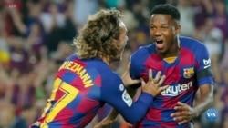 Ansu Fati estrela guineense do Barça