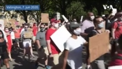 Mirni protest u Vašingtonu i poziv na promene
