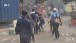 Police epanzi bato balingaki na mbela ya Lamuka mpo na bonsomi ya CENI mpe maponami na 2023