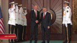 Phó Tổng thống Mỹ hội đàm với quan chức cấp cao Thổ Nhĩ Kỳ