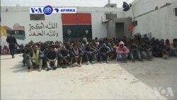 VOA60 AFIRKA: Masu Safarar Mutane Sun Kashe Sama Da Mutane 12 a Libya