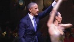 Los Obama se animan con el tango