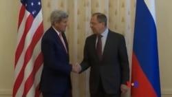 克里會晤俄羅斯高官 討論敘利亞烏克蘭問題