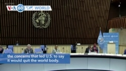 VOA60 World - Europe is working with the United States on plans to overhaul the World Health Organization