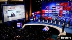 지난 2017년 11월 미국 플로리다주 세인트피터스버그에서 CNN과 유튜브가 공동주관한 공화당 대선경선루보 토론회가 열렸다.