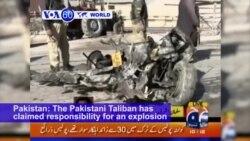 VOA60 World - Car Bomb Kills 5 Police, 2 Civilians in Southwest Pakistan