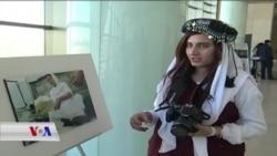 پـێشەنگایەکی فۆتۆگرافانی کچانی ئێزیدی لە سلێمانی