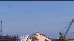 2013-09-15 美國之音視頻新聞: 觸礁意大利郵輪扶正工程準備展開