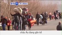 'Châu Âu tự gây ra khủng hoảng nhân đạo' (VOA60)
