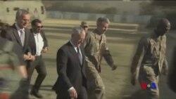 """美國國防部長:美國""""不會退出""""阿富汗戰爭 (粵語)"""