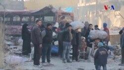 Halep'ten Tahliyeler Başladı