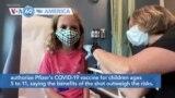 VOA60 America - FDA Panel Endorses Pfizer COVID-19 Shot for Kids