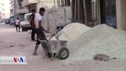 Tevî Şerê Berdewam, Avasazî li Efrînê Zêde Dibe