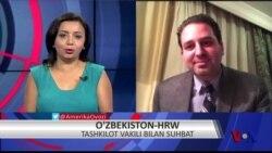 Vashington choyxonasi: HRW O'zbekistonga qaytdi