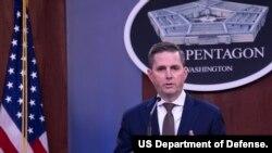 조너선 호프먼 미국 국방부 대변인.