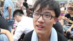 Raw Video: Interview with Hong Kong Student Protesters