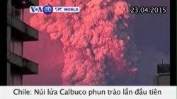 Núi lửa ở Chile phun trào lần đầu tiên trong hơn 50 năm (VOA60)