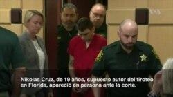Presunto autor de tiroteo en Florida aparece en corte