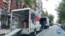 Pandemiya: Nyu-Yorkni tark etayotgan oilalar