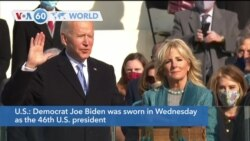 VOA60 World - Joe Biden sworn in as the 46th U.S. president