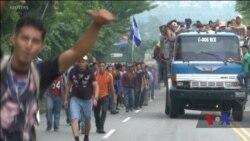 До кородону США йде караван з мігрантів з Гондурасу. Відео