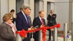 US Secretary of State John Kerry in Bishkek, October 31, 2015