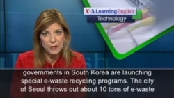 South Korea Seeks to Reuse More E-Waste