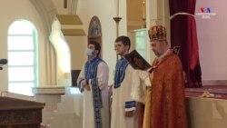 Տավուշում զոհված զինվորականների համար Վաշինգտոնի Հայ առաքելական եկեղեցում հոգեհանգստի աղոթք մատուցվեց