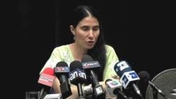 Yoani Sánchez habla de la VOA