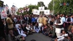 شہباز شریف کی گرفتاری کے خلاف احتجاج