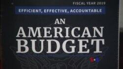 2018-02-13 美國之音視頻新聞: 川普推出預算案 包括強軍和修界牆