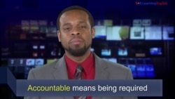 News Words: Accountable