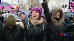 Жіночі протести пройшли у США та інших країнах. Відео