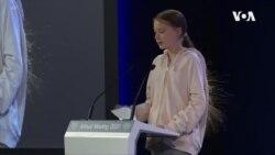 瑞典青年环保人士敦促各国采取严厉措施应对气候变化