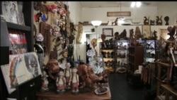 Toko Kerajinan Indonesia di New Orleans