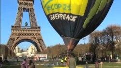 巴黎氣候峰會前全球活動人士抗議施壓