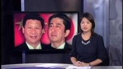 安倍吁藉APEC举行中日首脑会谈