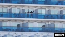 Hàng nghìn du khách bị cách ly trên tàu Diamond Princess, gần Nhật Bản, tháng 2/2020