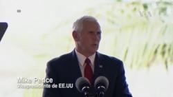Vicepresidente Pence condena ataque terrorista en Barcelona