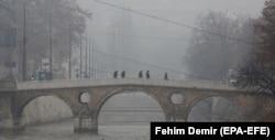 Zagađen zrak u Sarajevo, 18. decembar 2020.