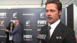 Brad Pitt Talks about New World War II Film