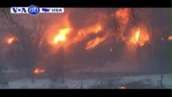 Hỏa hoạn trong nhiều giờ ở tiểu bang West Virgina (VOA60)