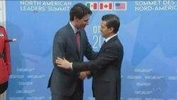Ottavada AQSh, Kanada va Meksika yetakchilari uchrashdi