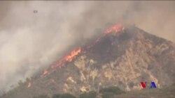 加州創紀錄高溫助長山林大火