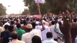 蘇丹民眾抗議削減燃料補貼