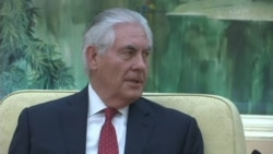 Tillerson: Trump Places High Value on Communication with China