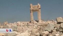 وێرانکاریـیەکانی داعش لە شاری مێژوویی تەدمور لە سوریا