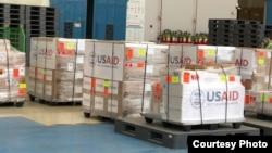 Kiriman bantuan kemanusiaan dari Amerika Serikat ke Pakistan (Foto: Twitter/Kedutaan AS di Islamabad)