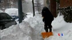 2016-01-24 美國之音視頻新聞: 華盛頓地區已停止落雪